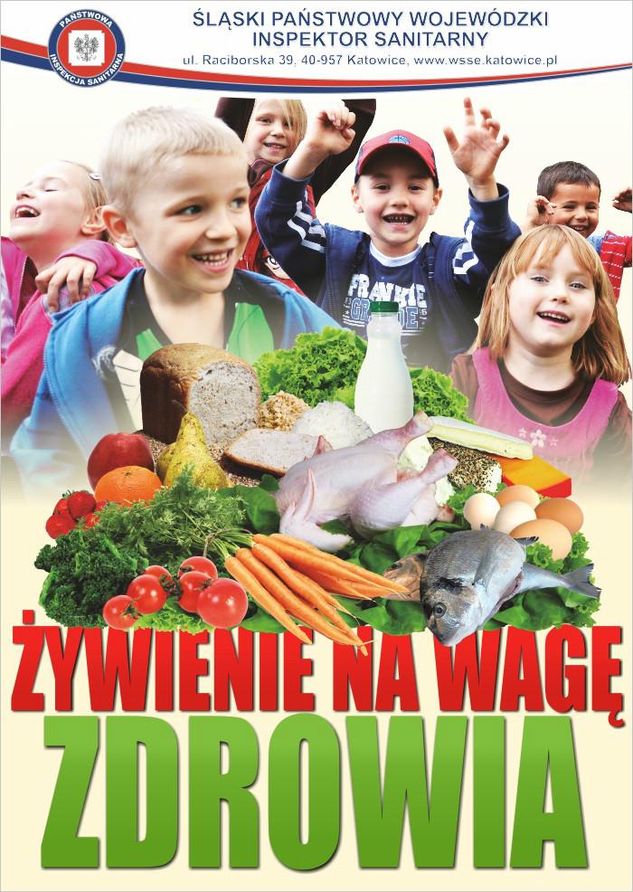 Plakat Żywienie na wagę zdrowia