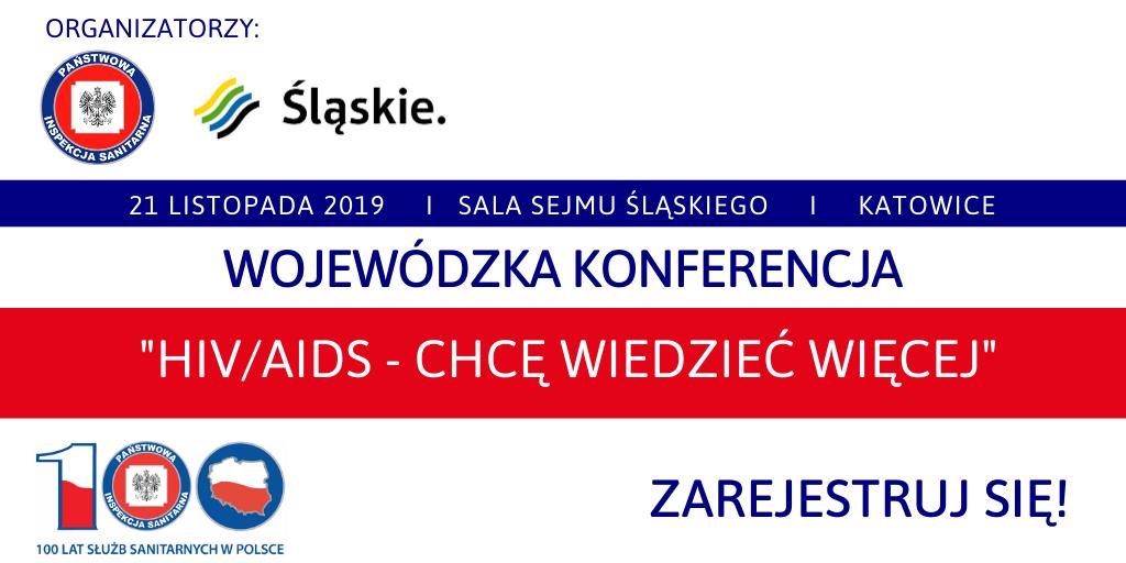 Konferencja HIV AIDS 21.11.2019 r